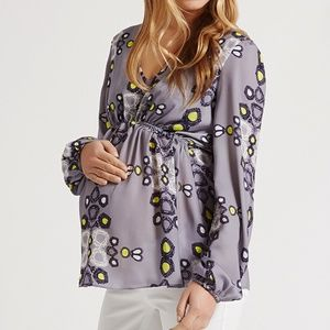 Juno top in Abstract Daisy